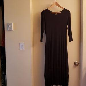 Comfy Black Dress NWT